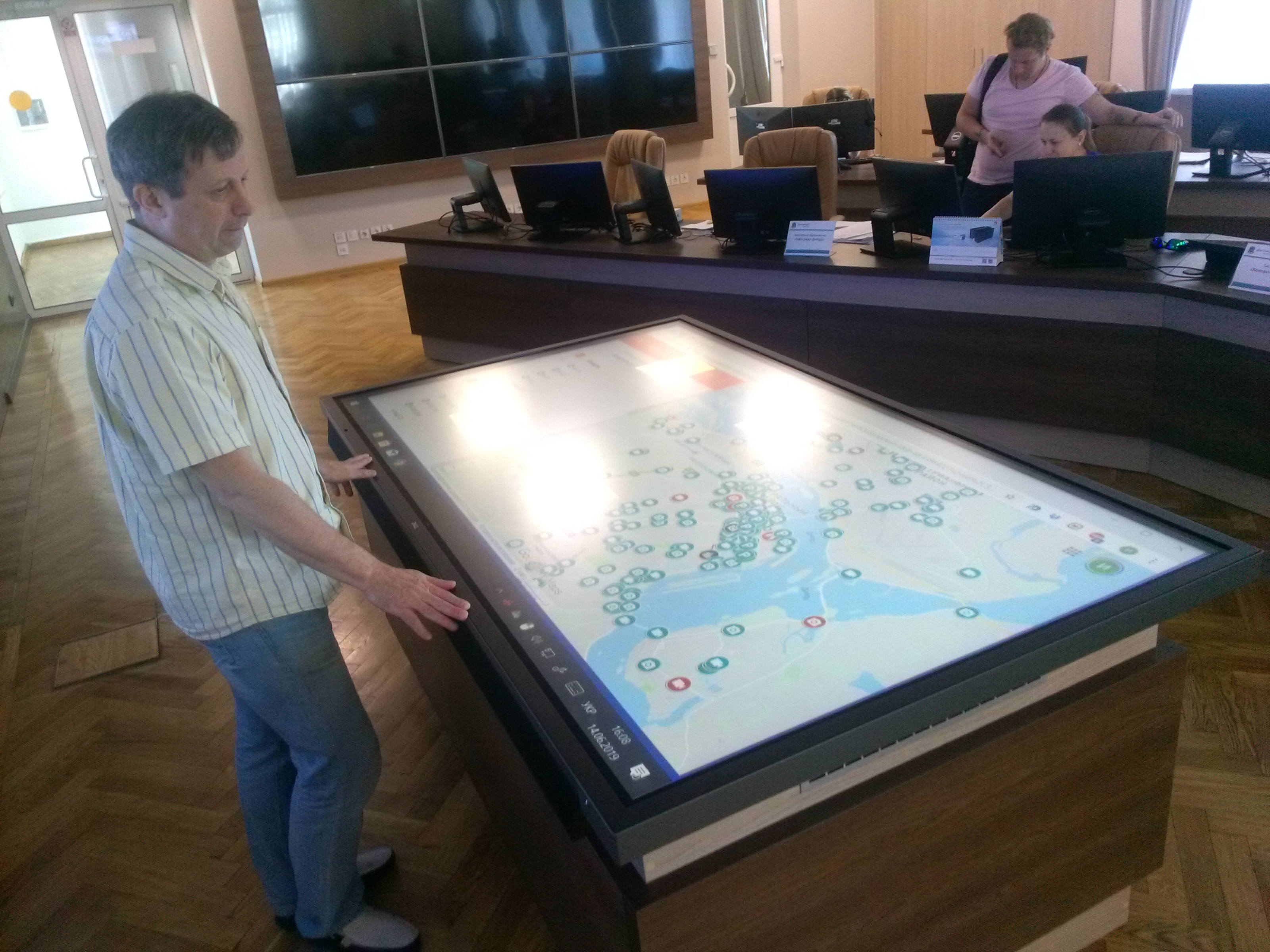 «Оперативний стіл» Дніпровської міської ради